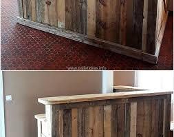 bar diy bar beautiful small wooden bar interesting wooden pallet