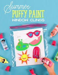 summer paint window clings ilovetocreate