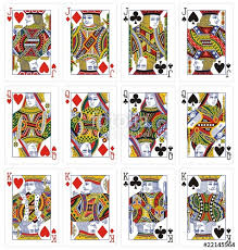 cards classic king stock image and royalty