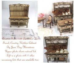 dollhouse kitchen cabinets jean day doll house miniatures laser cut kits laser cut cotton