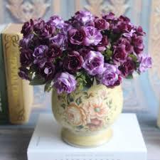 Wholesale Silk Flower Arrangements - online get cheap silk flower arrangements purple aliexpress com