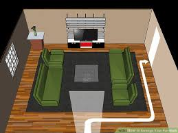 How To Arrange How To Arrange Your Furniture With Pictures Wikihow