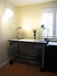 Desk For Drawing My Drafting Table And Lighting Setup Art Of Wei