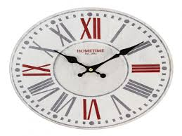 modern wall clock featured with brown numbers contemporary wall