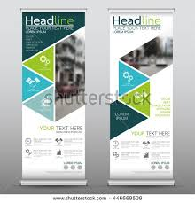 flyer property blue roll business brochure flyer banner stock vector 446820952
