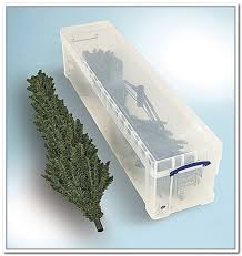 creative design tree storage tote plastic artificial