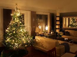 christmas tree in modern living room stock photo colourbox
