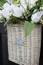 Easter Basket Door Decorations by Six Gorgeous Spring Wreaths To Dress Up Your Front Door Driven