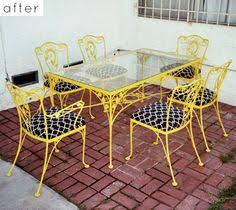 Iron Patio Furniture by Need Ideas And Instruction On Sprucing Up Some Patio Furniture I
