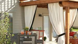 Outdoor Curtains Lowes Designs Add A Pretty Privacy Curtain