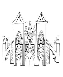 bluebonkers medieval churches coloring sheets flying buttress