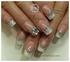 rhinestone nail designs pictures