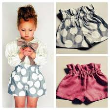 Paper Bag Toddler Shorts Pattern   paper bag toddler shorts doesn t link to a pattern or anything but