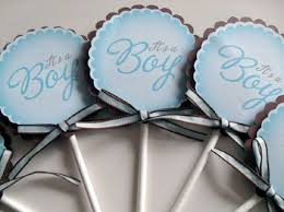 it u0027s a boy baby shower cupcake toppers arts crafts and design finds