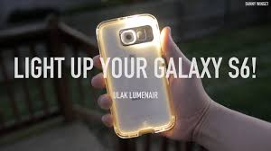 lights when phone rings light up your galaxy s6 with ulak lumenair case youtube