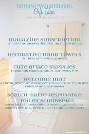 organized bathrooms and housewarming gift ideas embellishmints