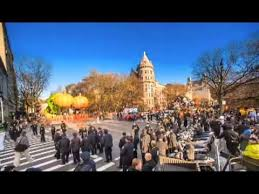 2012 macy s thanksgiving day parade timelapse