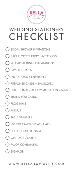 bridal shower registry bridal shower checklist free wedding stationery budget
