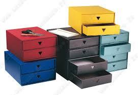 boite de classement bureau module de classement rangement recyclé