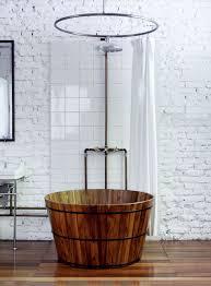 bathroom chic asian bathroom ideas with drum shape brown