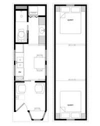 Tiny Houses Floor Plans A Sample From The Book Tiny House Floor Plans 8x20 Tiny House