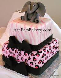 cheetah baby shower girl s baby shower specialty cakes eats bakery s sc