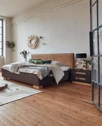Katze Schlafzimmer Ja Bett Nein Birkenstock Bett Canberra Mit Markantem Kopfhaupt Aus Handgenähtem