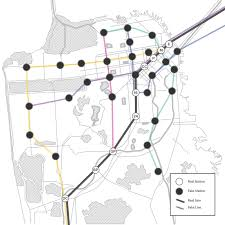 Map Of Bart Stations by The Bart Map Of Our Dreams U2014 The Bold Italic U2014 San Francisco