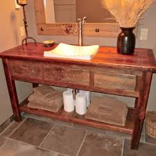 Unique Bathroom Vanities Ideas Rustic Bathroom Vanities Lexington Sink Stand From Sierra Copper