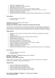 Bar Manager Sample Resume Help Writing My Dissertation Babylon Revisited Research Paper