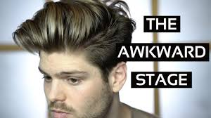 men growing hair out stages list of synonyms and antonyms of the word awkward stage