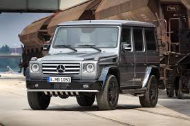 mercedes g class blacked out mercedes benz unveils two new special edition g wagens we can u0027t