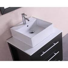 28 Bathroom Vanity With Sink 28 Inch Belvedere Modern Freestanding Espresso Bathroom Vanity W