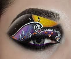Nightmare Before Christmas Room Decor Creative Christmas Party Or Fantasy Eye Make Up Ideas U0026 Looks X