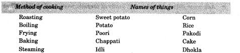 ncert solutions for class 3 evs what is cooking learn cbse