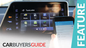 toyota go and see how to use toyota touch 2 multimedia system in the c hr youtube