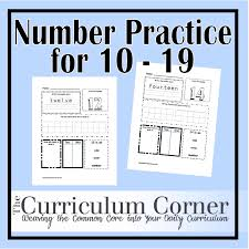 5 best images of number practice pages printable tracing numbers