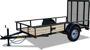 big tex 29sa economy single axle utility trailer tri county