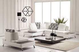 living room furniture black and white leather sofa set rectangular