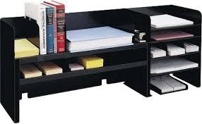 Desk Organizer Shelves Industries Desk Organizer W Dividers 47 1 4 X9 1 2 X18 3 8