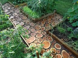 10 cool diy garden path ideas