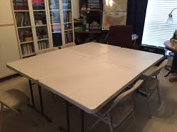 creating a stowable gaming table s w shinn