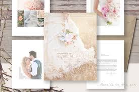 wedding magazine template wedding photography welcome guide magazine template photography marke