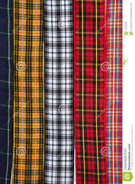 scottish tartan fabric tapes pattern background royalty free stock