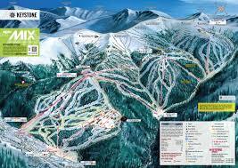 Colorado Ski Resorts Map by Keystone Piste Maps And Ski Resort Map Powderbeds