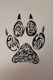 wolf paw tribal by wolfbaltodog on deviantart