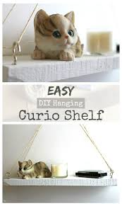 Build A Shop Easy Diy Hanging Curio Shelf