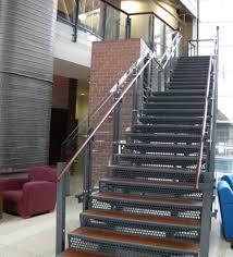 Spiral Stair Handrail Appealing Metal Stair Handrail 46 Metal Stair Handrail Designs