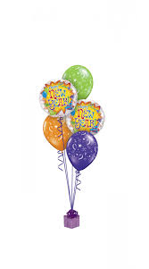 baloon bouquet colourful happy new year balloon bouquet