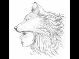 easy how to wolf drawing let u0027s learn drawing art on paper
